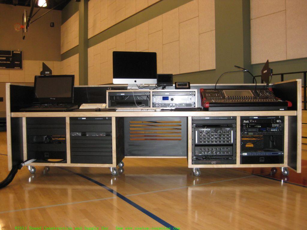 Custom Recording Studio Furniture Scs Drsk Recording