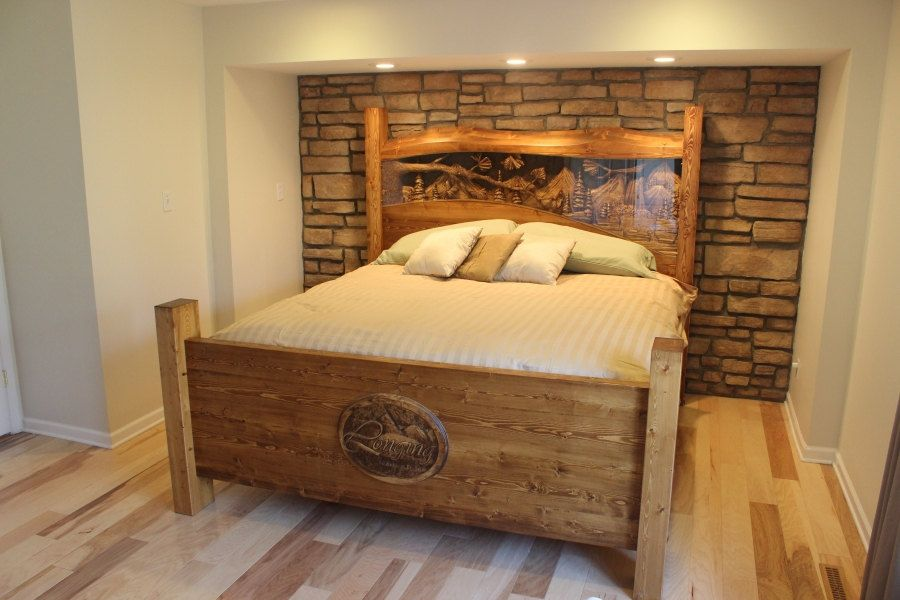 Custom Made Headboard Hand Carved By Www Lazyriverstudio Com We Make King Queen And Any Size B King Size Headboard King Size Bed Headboard Carved Headboard