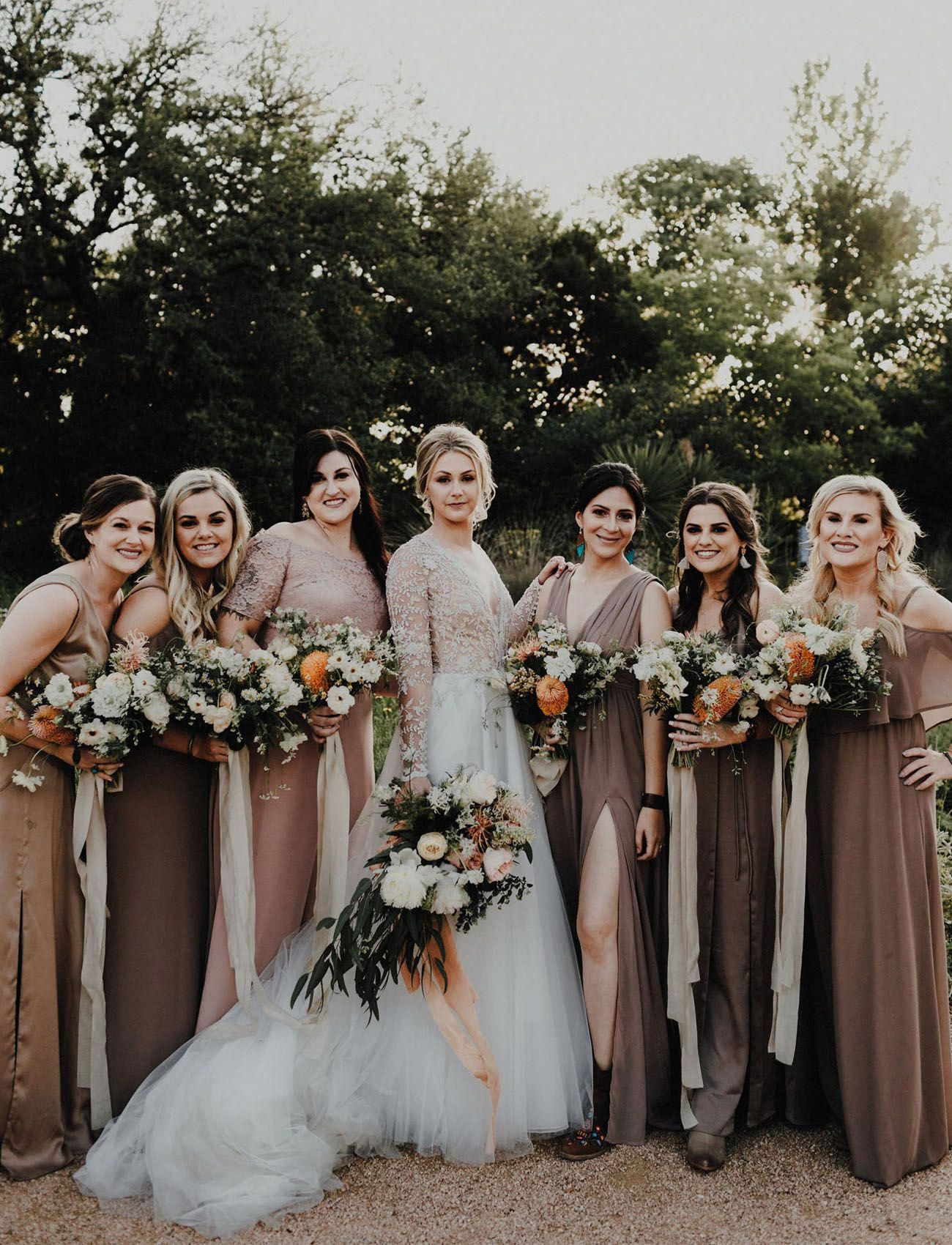 How to Choose Your Wedding Colors Neutral bridesmaid