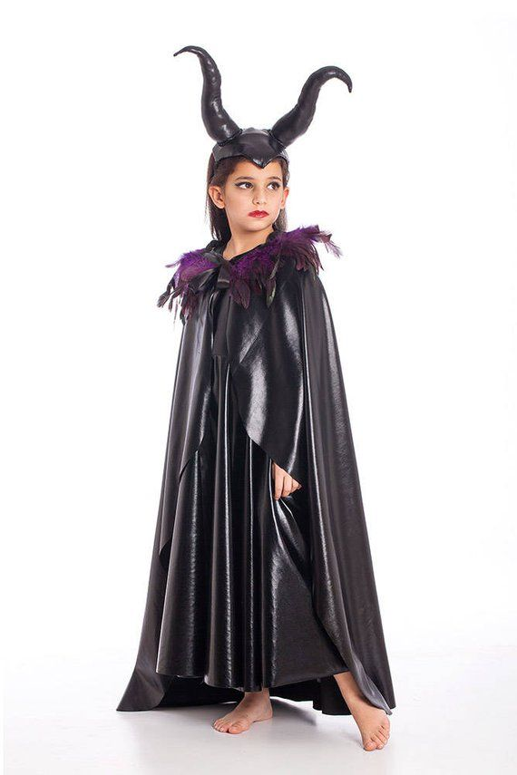 Costumes & Accessories Scary Girls Carnival Princess Children Child Fancy Dress Hat Christmas Halloween Costume For Kids Witch Costumes Party Cosplay Ture 100% Guarantee