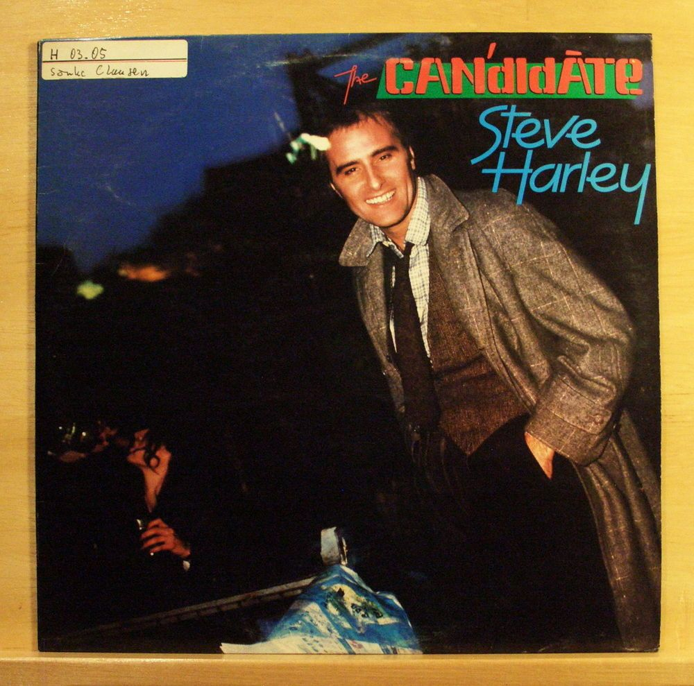 STEVE HARLEY - Candidate - Vinyl LP Love on the Rocks One more Time Young Hearts