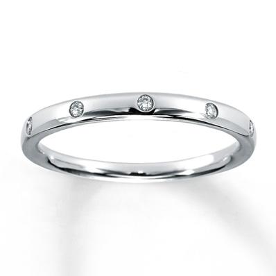Diamond Anniversary Ring 120 ct tw Roundcut 10K White Gold Gold