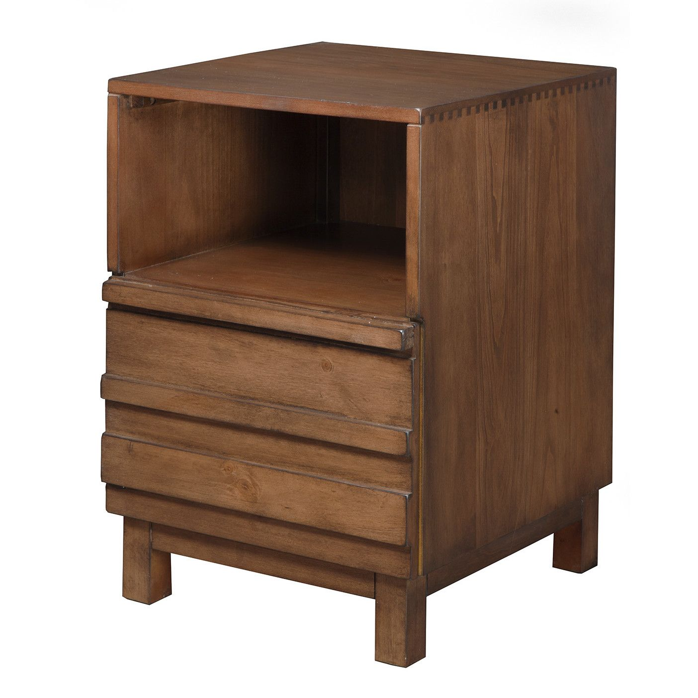 Best Brayden Studio® Marcos 1 Drawer Nightstand Modern 640 x 480