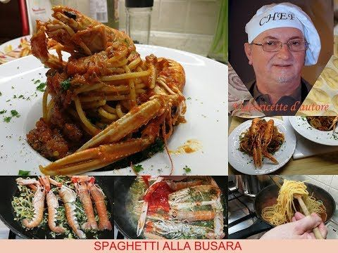 Photo of SPAGHETTI ALLA BUSARA an exceptional dish