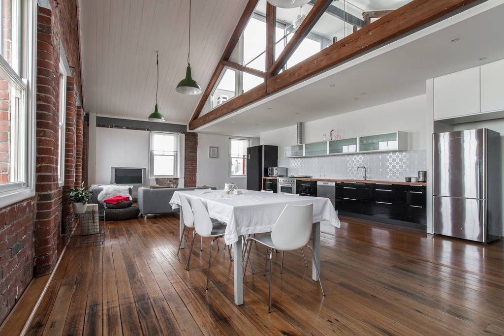 Check Out This Awesome Listing On Airbnb The Tannery Warehouse Loft Aprtmt Apartments For Rent In Clifton Hill
