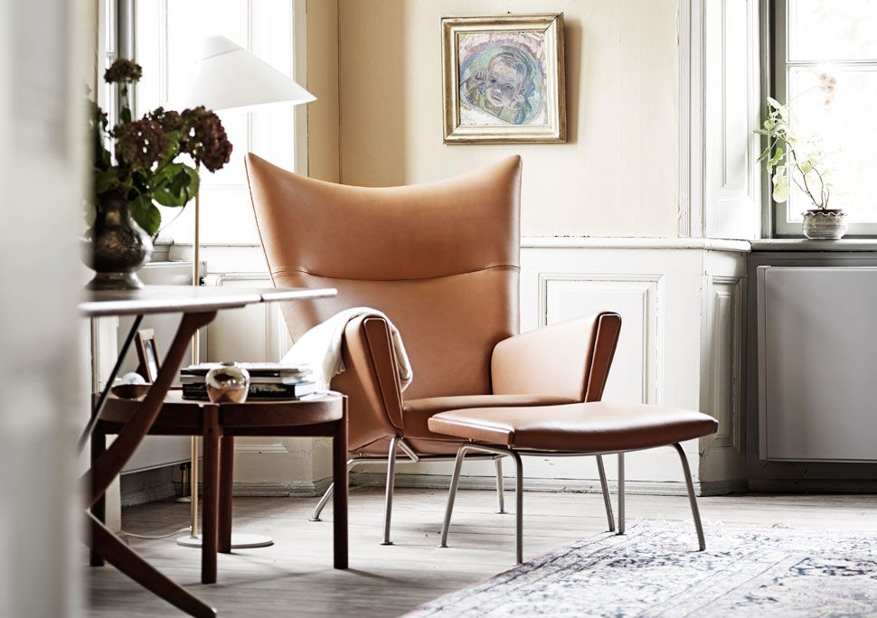 The Captivating Danish Home Of Carl Hansen & Søn's Ceo  Manor Fascinating Chair Designs For Living Room Inspiration