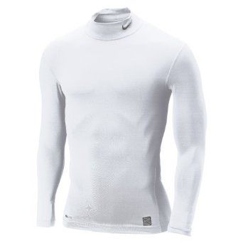 Nike Pro Core Compression Mock Long Sleeve Top Under