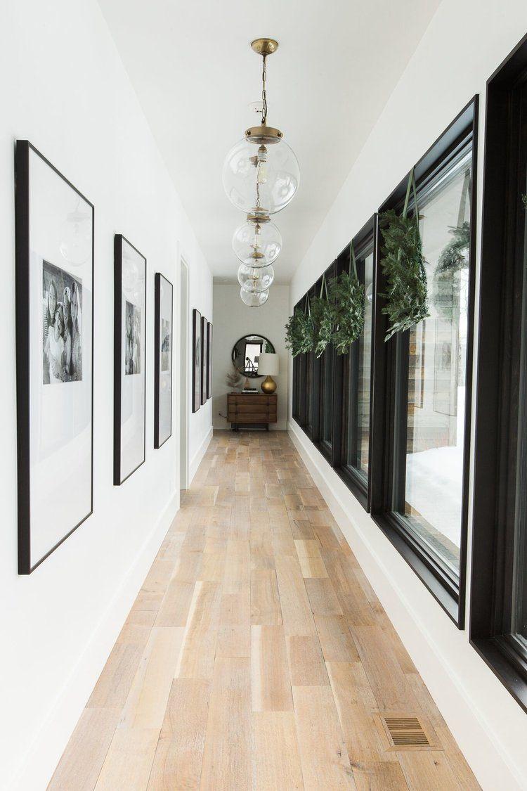 Hallway floor decor  Styling In The Winter  Hallway flooring Hall and Winter