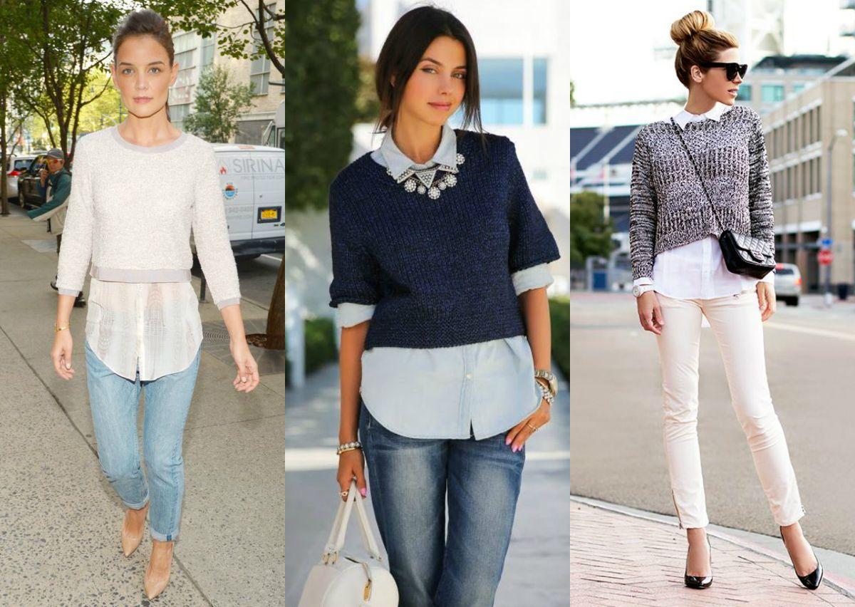 Trend para o inverno: suéters e casacos cropped - Moda it