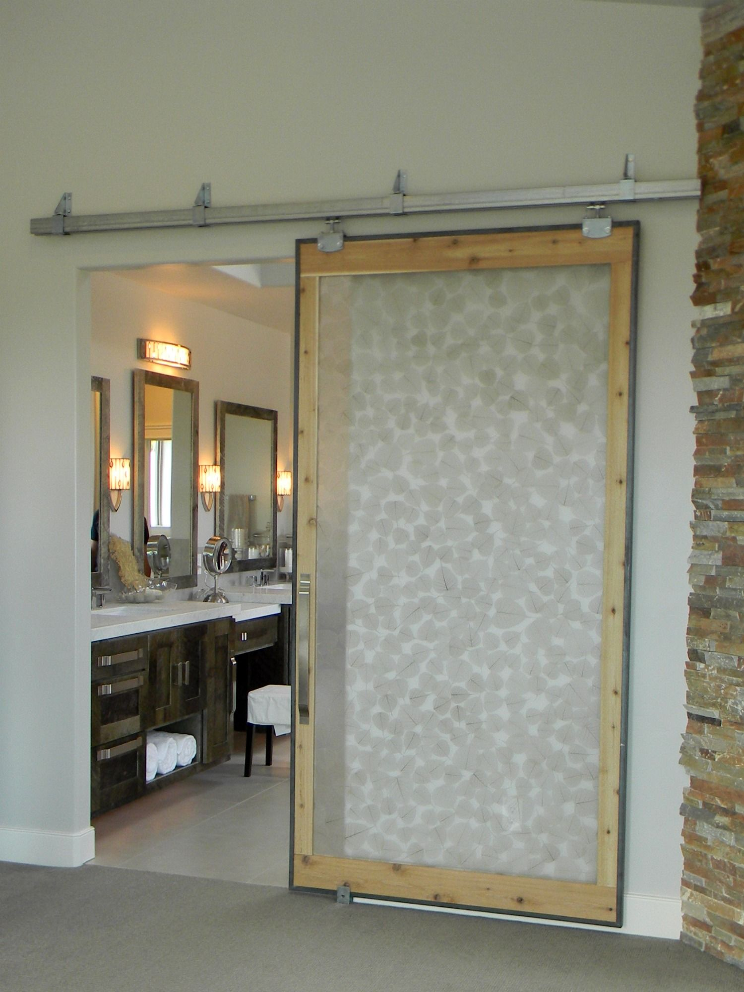 Organize And Decorate Everything Organize Your Life And Decorate Your World Diy Sliding Barn Door Home Parade Of Homes