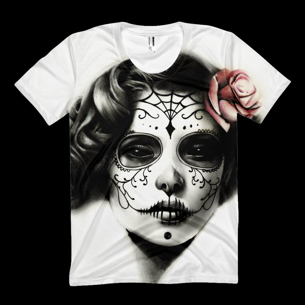 Pin on Skull Shirtz Skull and Sugar Skull Themed Clothing