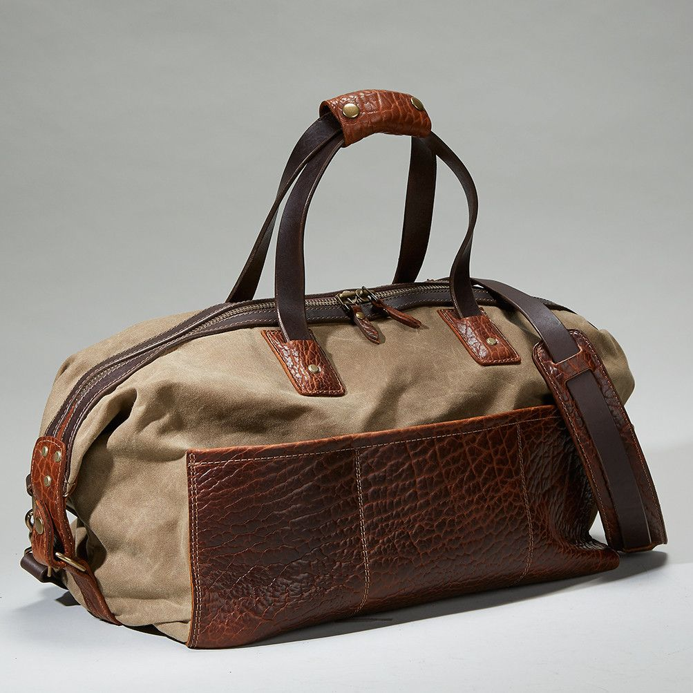 BISON REDWOOD DUFFEL #519 - Coronado Leather
