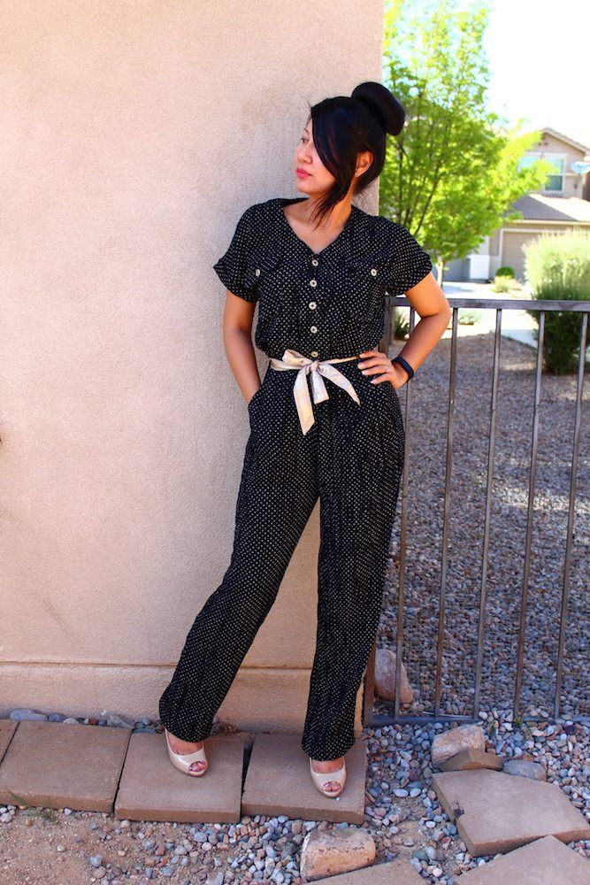 New Pattern: Anza Jumpsuit & Dress   Stuff to sew   Pinterest