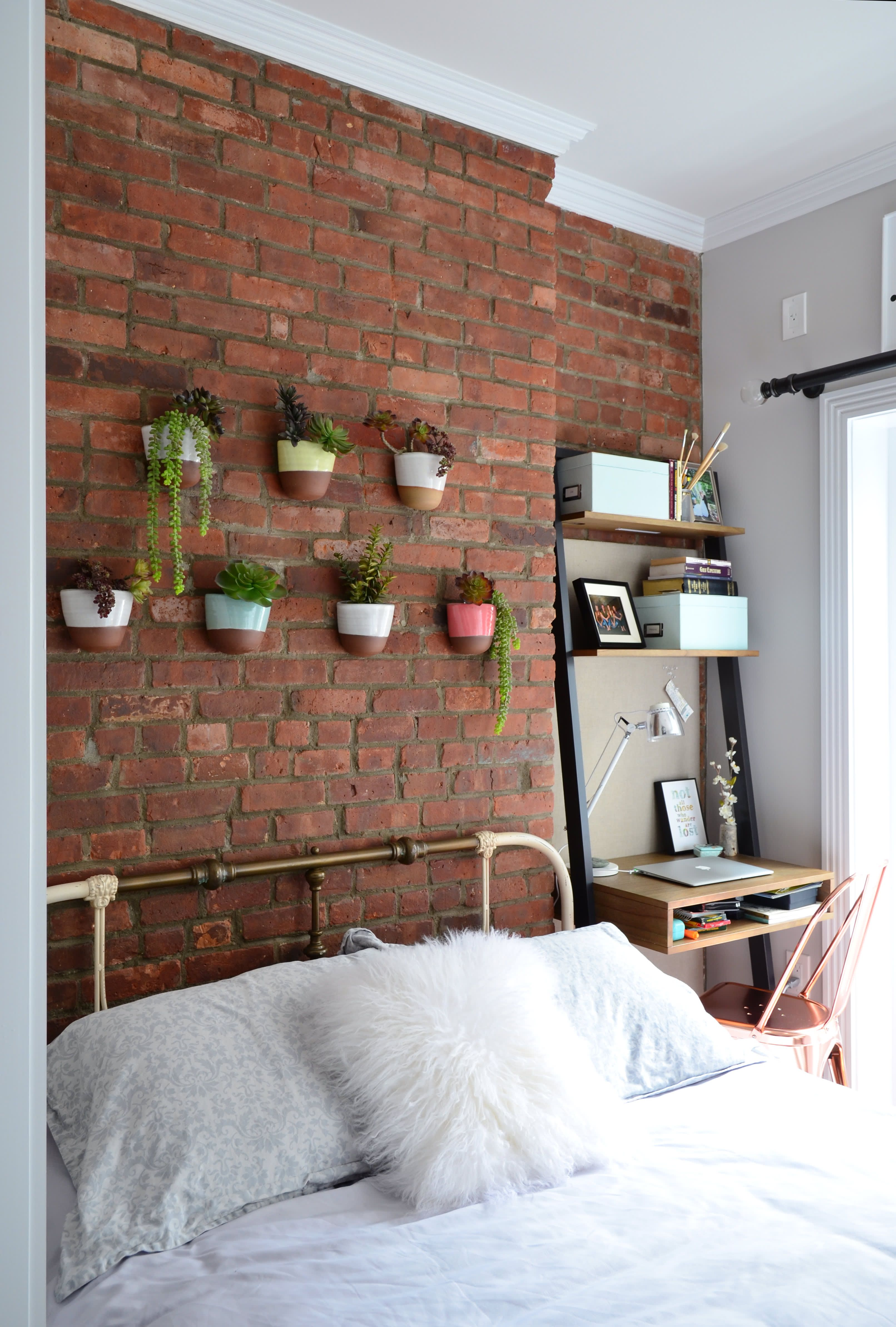 Architectural Detail Design Bold Exposed Brick Wall Decor Ideas