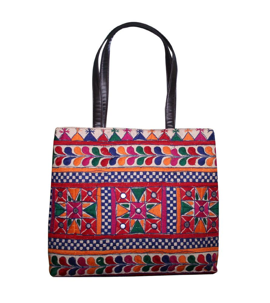 9e9355b0d0 Vintage Handmade Indian Embroidery Shoulder Bag Banjara Purse Ethnic Handbag   Handmade  EveningBagShoulderBag