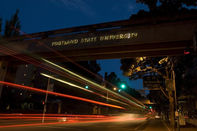 Portland State University Skybridge Portland State University Pacific Northwest Travel States