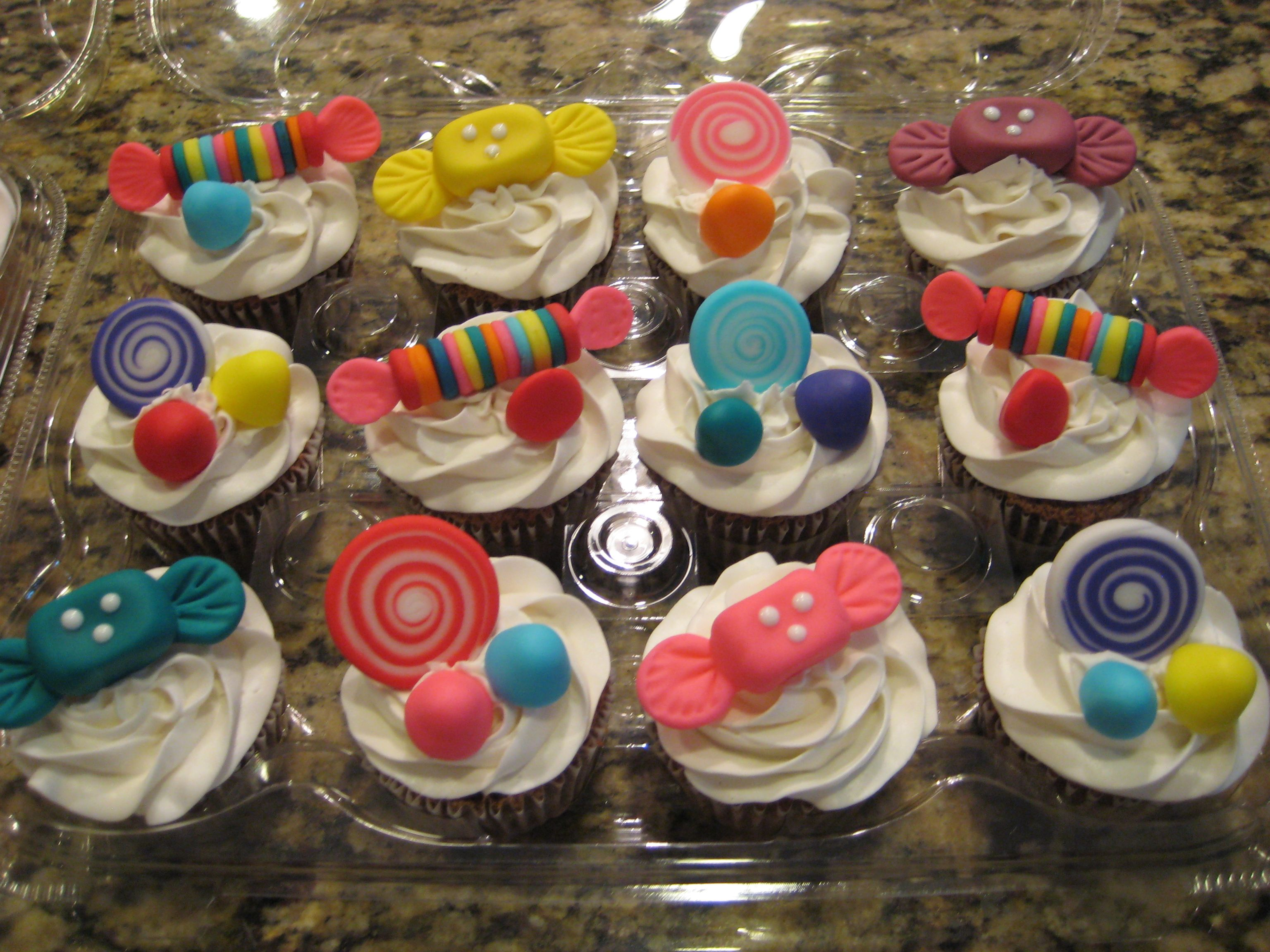 Candy Land Cupcakes -  By: Party Lovers Cupcakes www.facebook.com/partyloverscupcakes