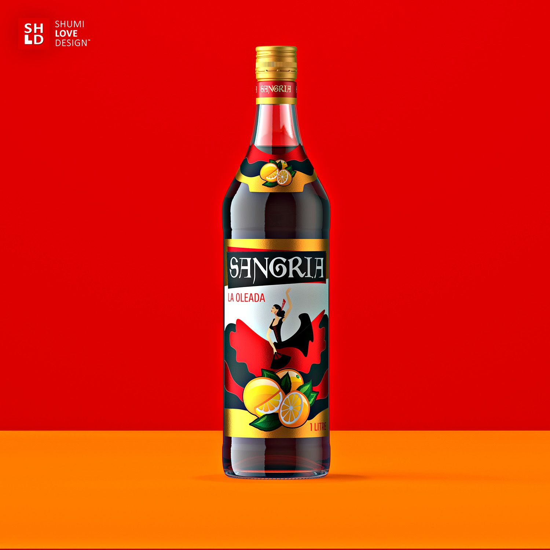 Sangria Wine Packaging Creative Packaging Design Sangria