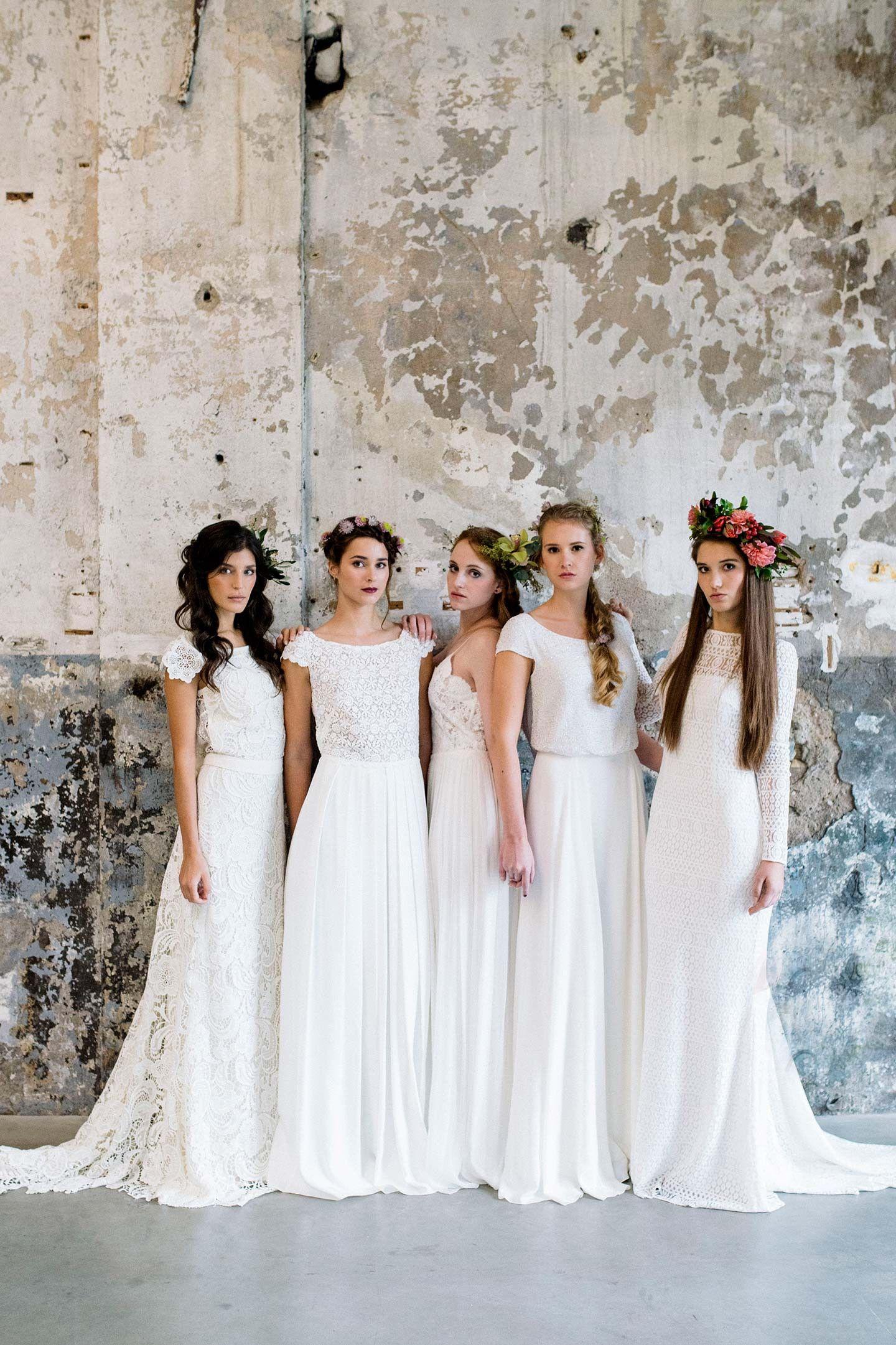 Traumhaft leichte Brautkleider von Victoria Rüsche | Leichte ...
