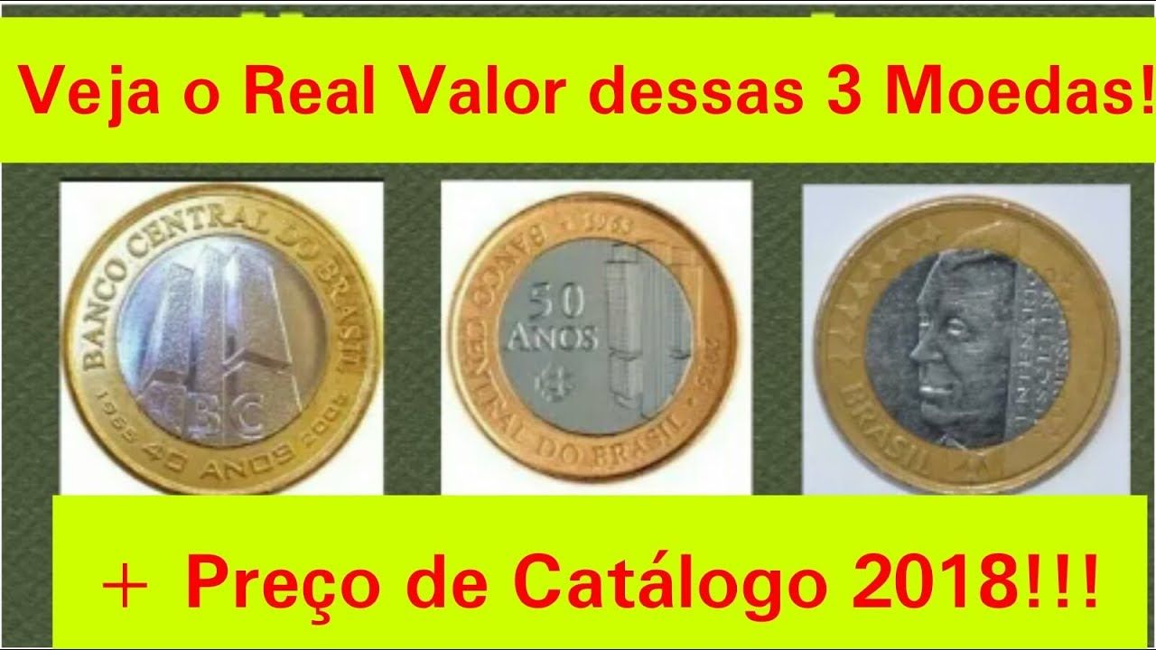 Saiba O Valor Destas Tres Moedas Moedas Comemorativas Do Jk De