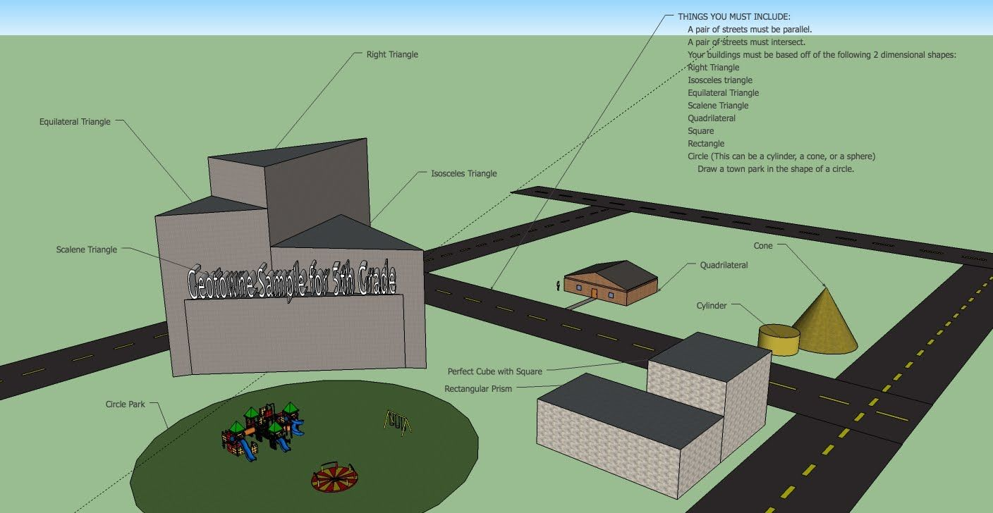 Google Sketchup Training Link For Elementary School Student