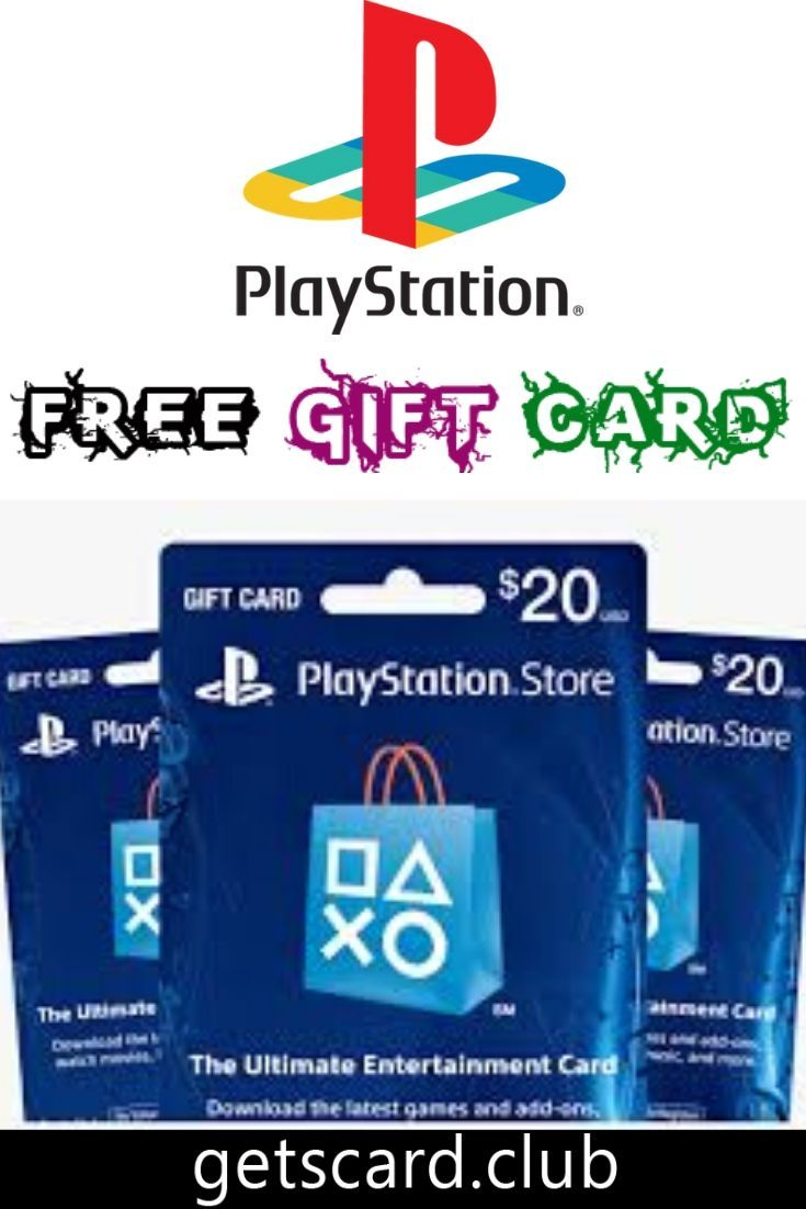 Free 20 playstation card walmart. in 2020 Xbox gift