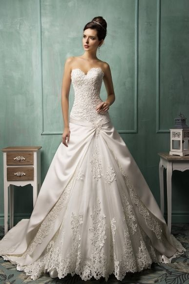 Italian wedding dresses AmeliaSposa Flowers Designs Pinterest