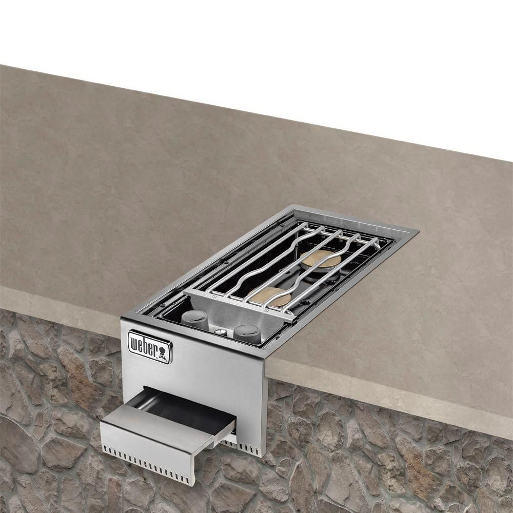 Weber summit stainless steel built in propane gas double - Portable dishwasher stainless steel exterior ...