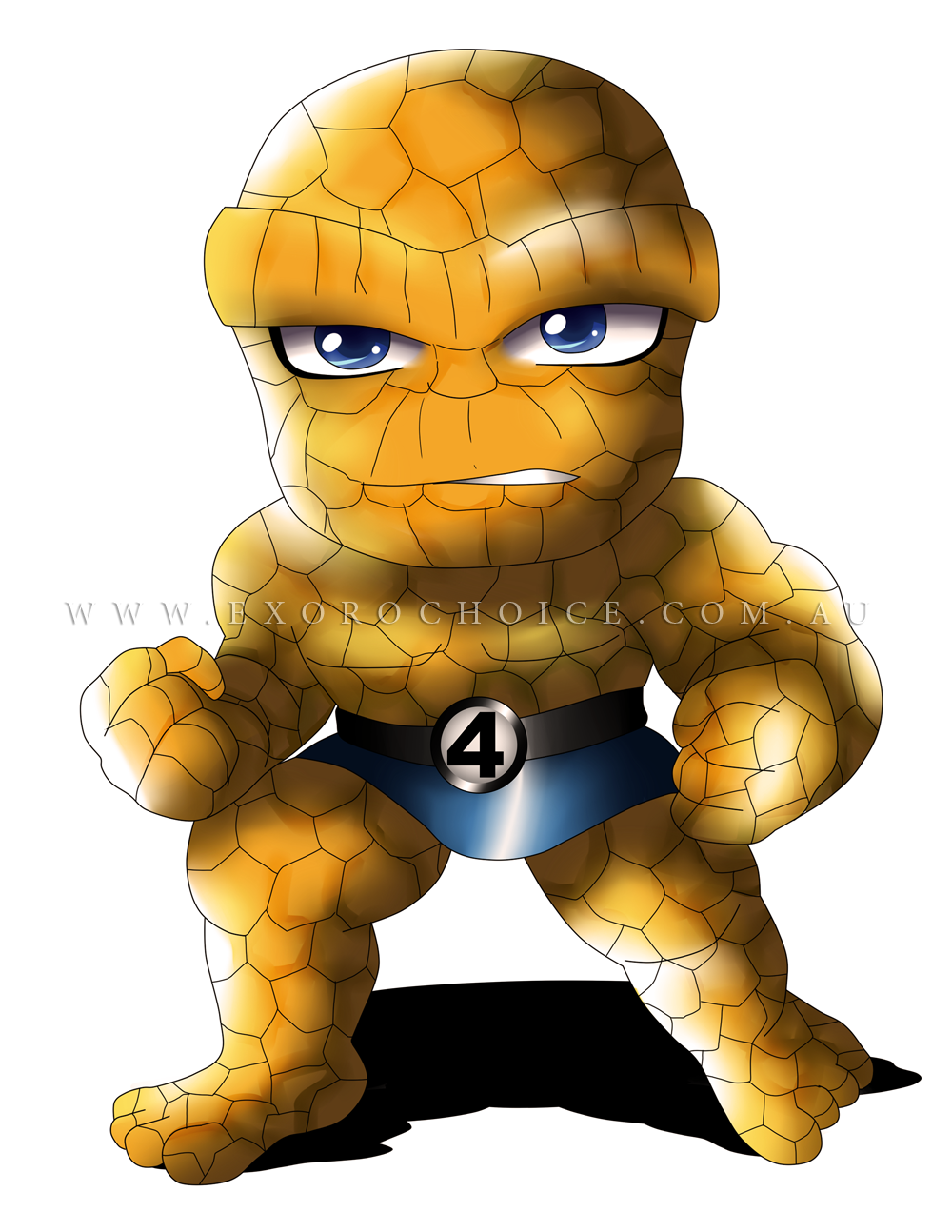 Exoro Choice S Superheroes Chibis Thing Chibi For Digital Download Copy You May Visit Our Site Http Exorochoi Chibi Characters Cute Comics Marvel Kids