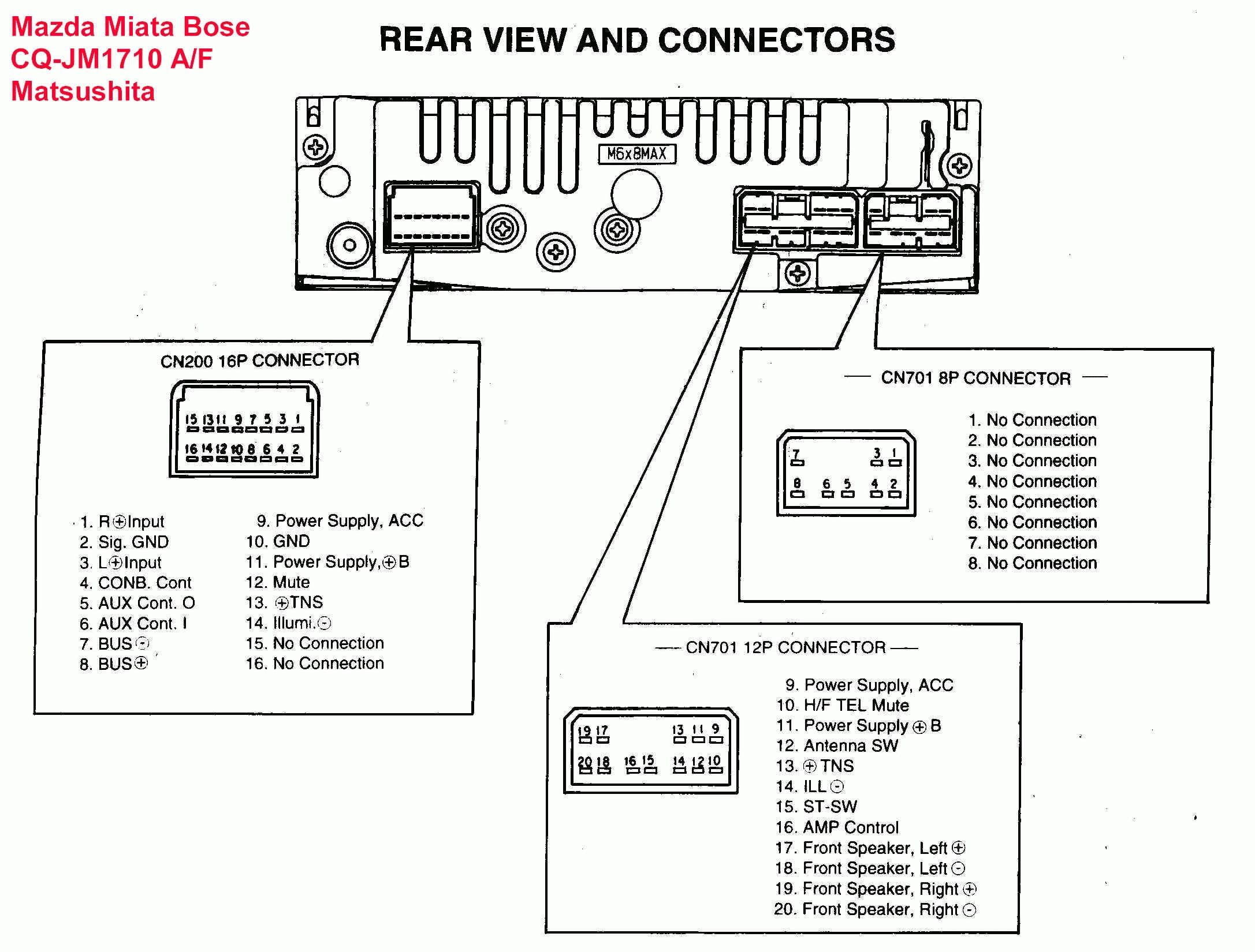 Stereo Wiring Harness Diagram Blurts Me In Ford | Car stereo, Sony car  stereo, Trailer wiring diagramPinterest