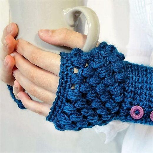 30 Crochet Gloves Mittens Patterns Fingerless Gloves Crochet