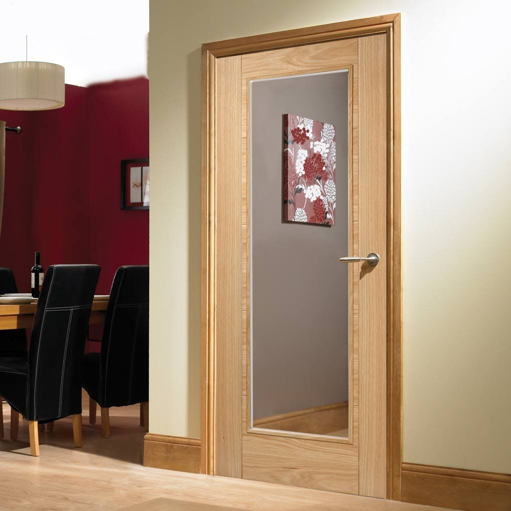 Vancouver Oak 1 Pane Fire Door Clear Glass 1 2 Hour Fire Rated Prefinished Internal Glass Doors Glass Panel Internal Doors Wood Doors Interior