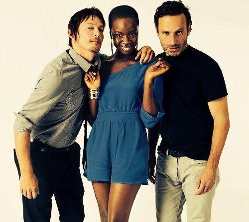 Walking Dead cast.