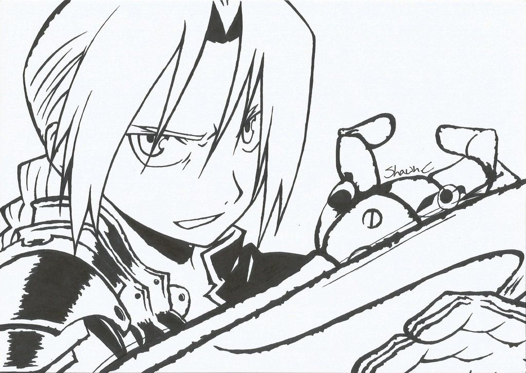 DeviantArt: More Like Edward Elric - Broken Automail by Axelly