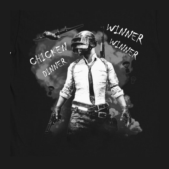 Winner Winner Chicken Dinner Shirt Pubg Tee Playerunknown S