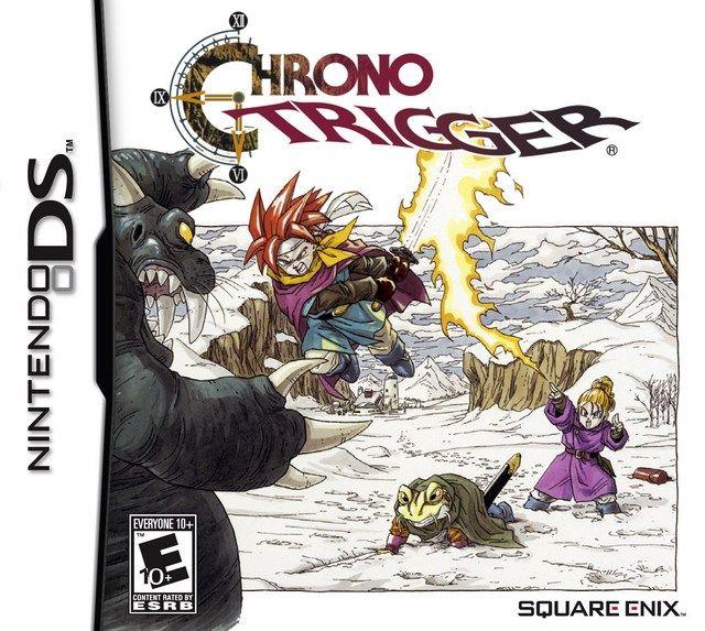 Chrono Trigger Box Shot For Ds Gamefaqs Chrono Trigger Ds Games Nintendo Ds