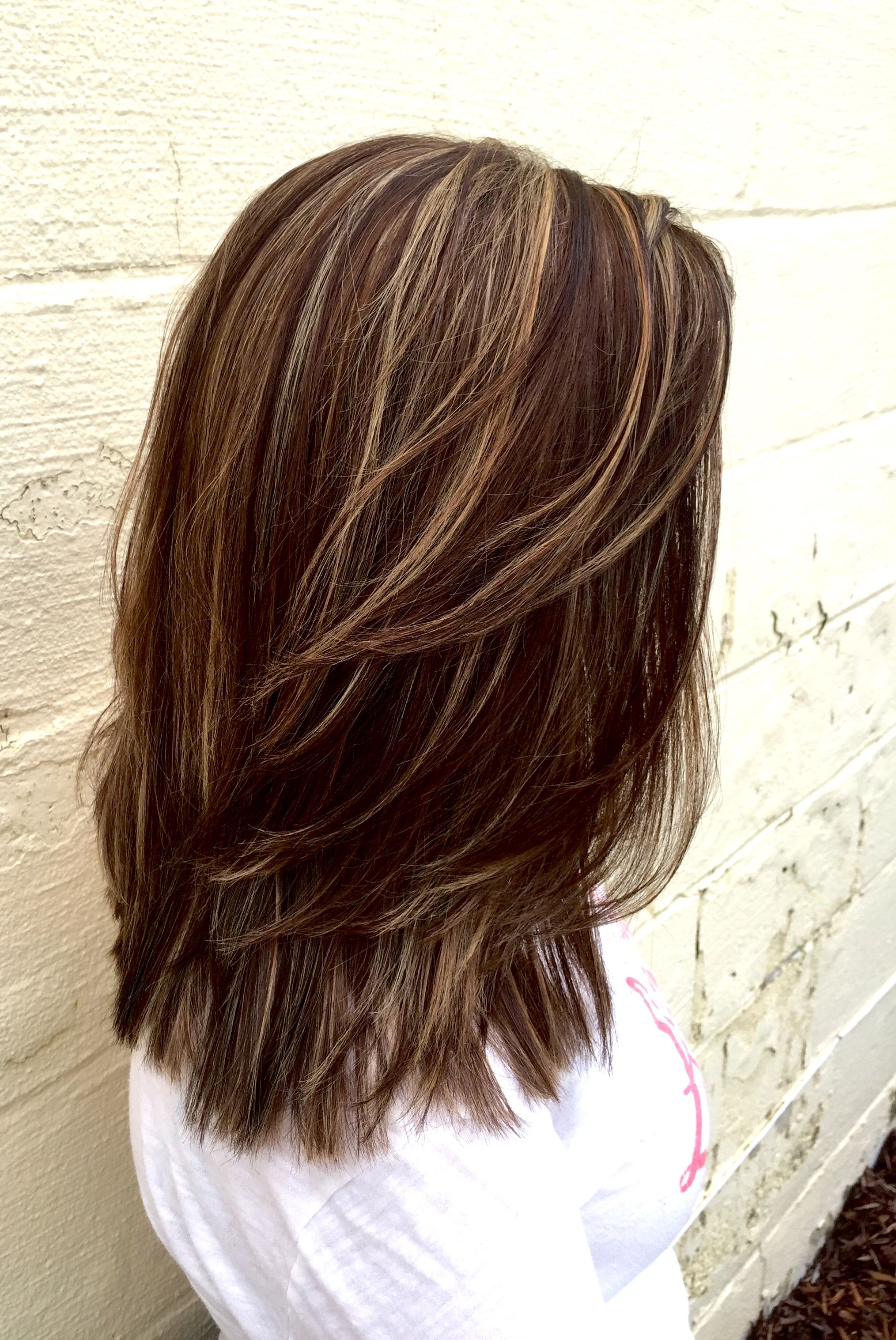 Beautiful blonde and beige highlights with my magic touch on a level