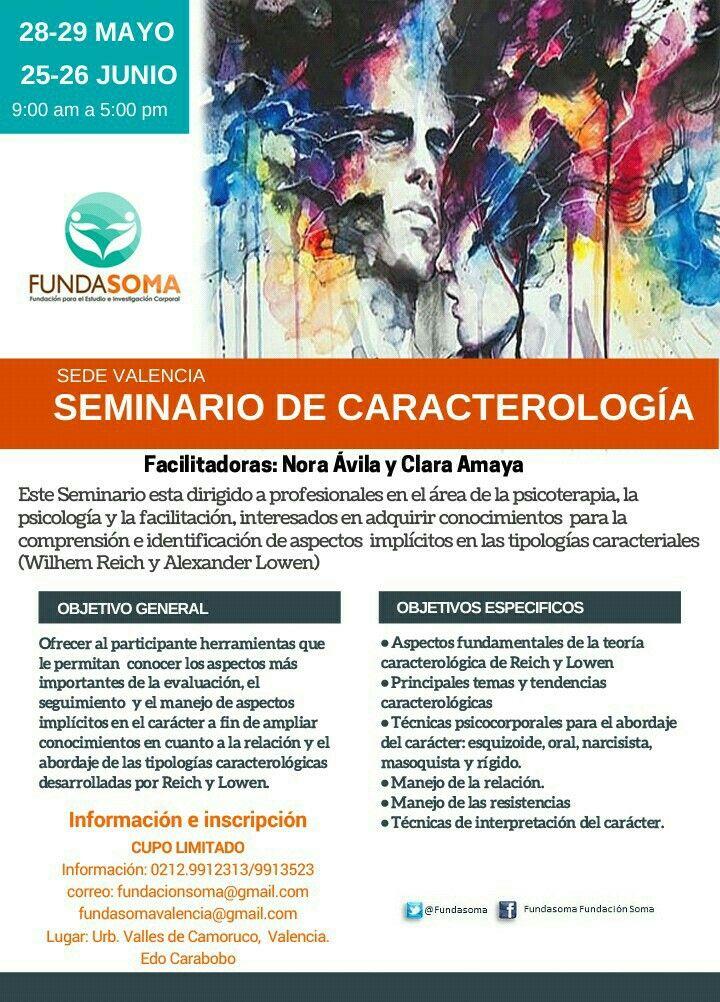 Seminario de Caracteriología