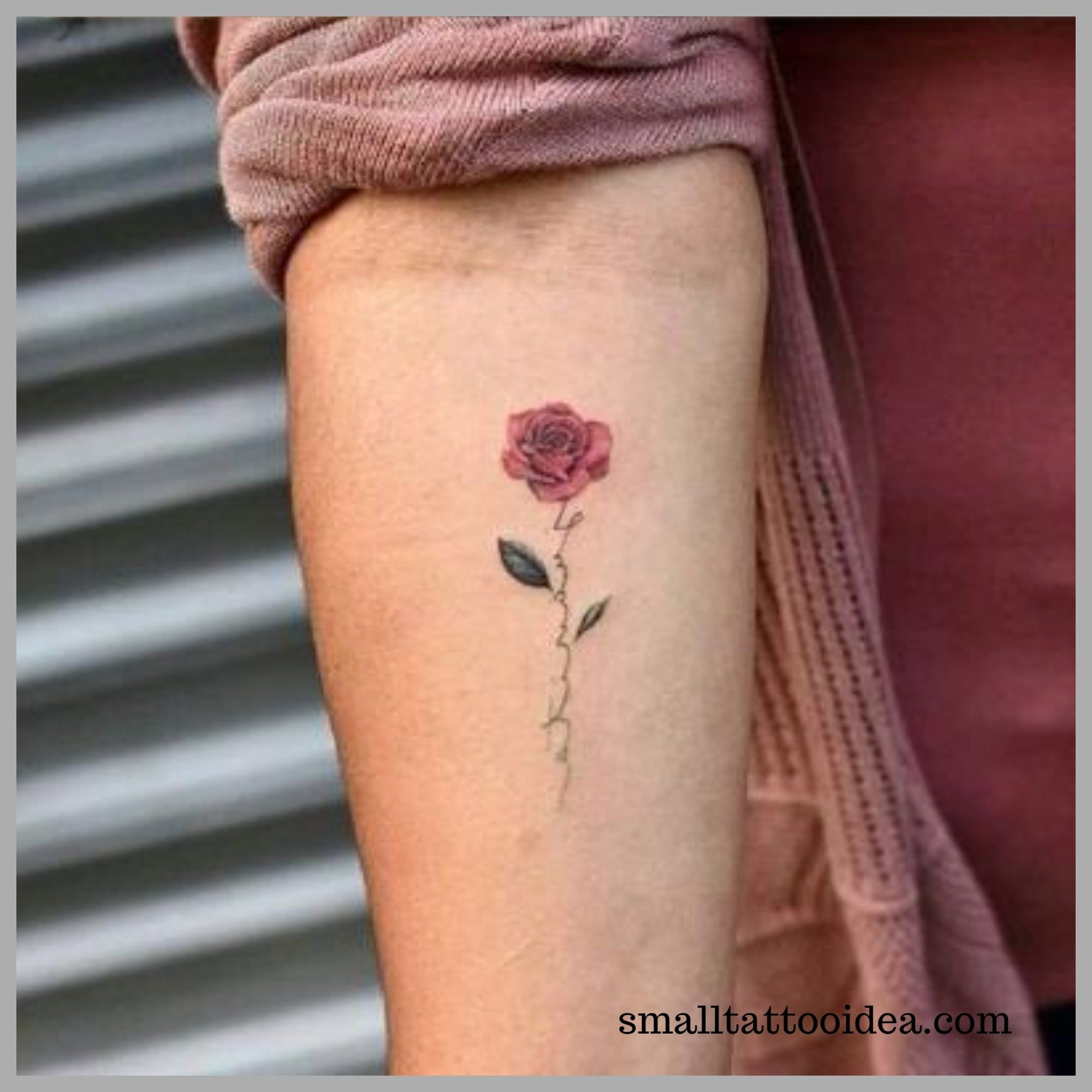 35 Small Red Rose Tattoo Ideas For Girls Tattoo Minimal Tattoo Hand Tattoos For Women Tattoos