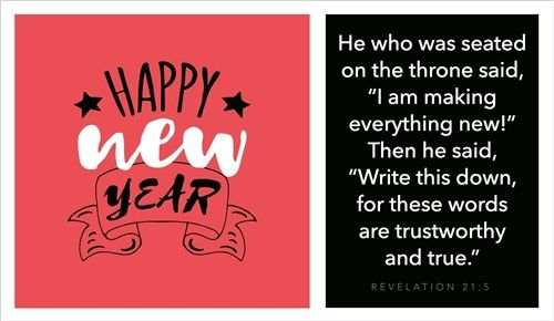 Happy New Year Revelation 21 Words You Are The Father