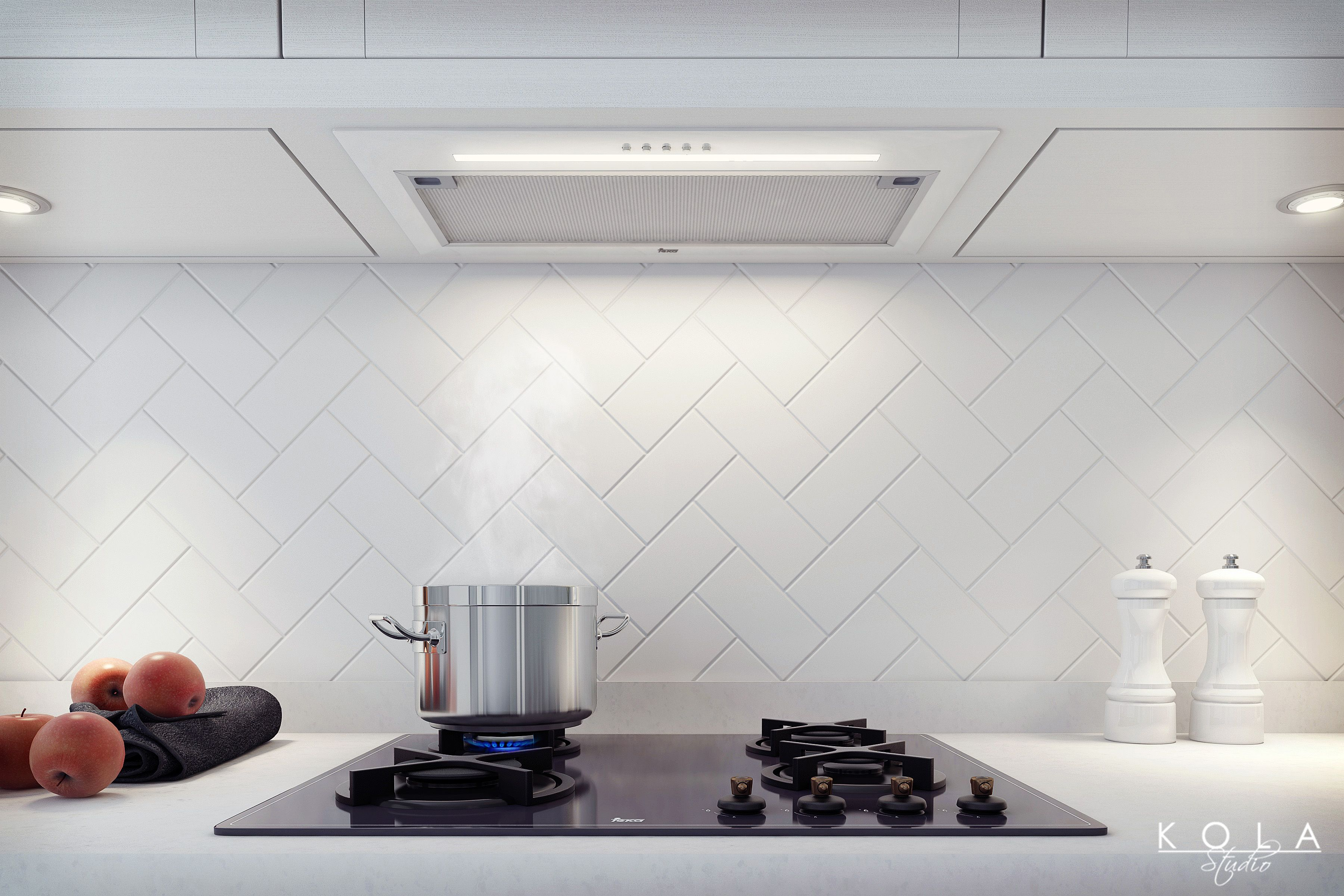 Visuals of contemporary retro kitchen for Teka. Presentation of high ...