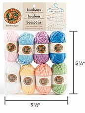 Lion Brand Bonbons Yarn - Pastels Only $6.99 at Yarn Supply