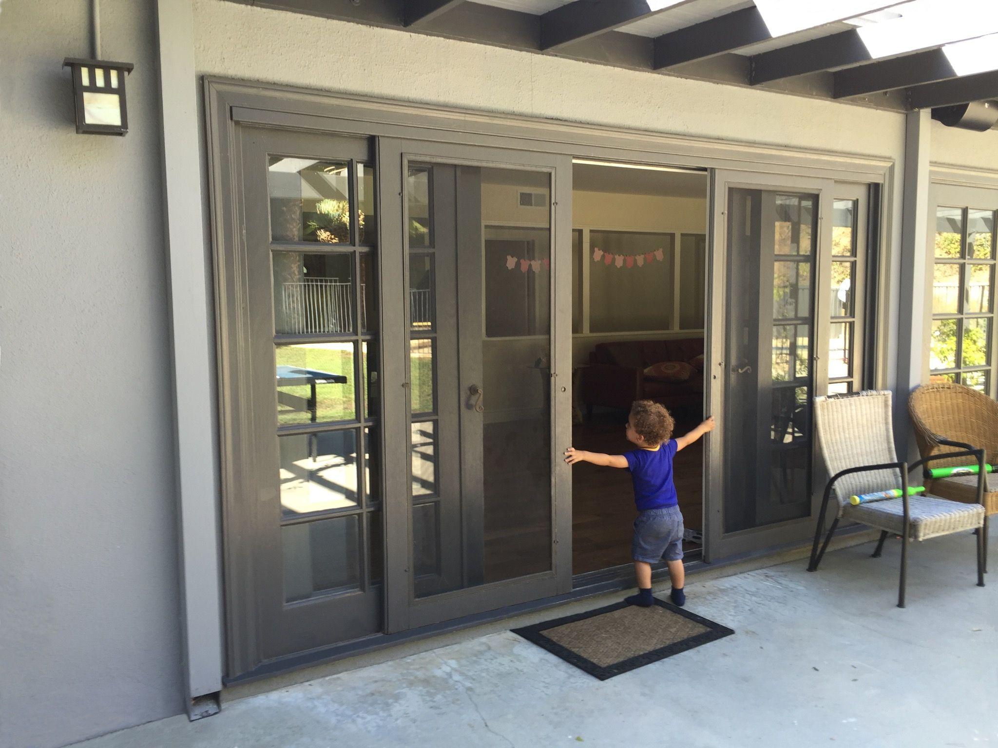 Wood Sliding Screen Doors Tolajt Pinterest Patio Doors