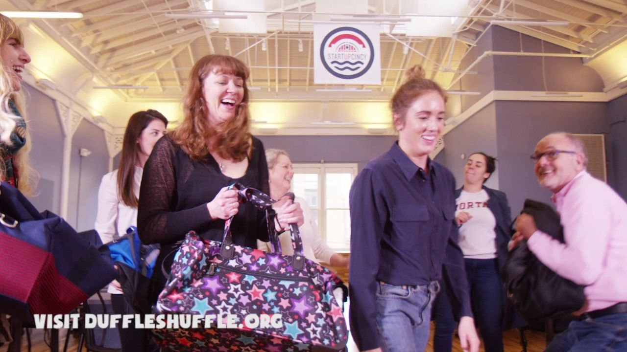 Your DuffleShuffle has people moving to help kids in