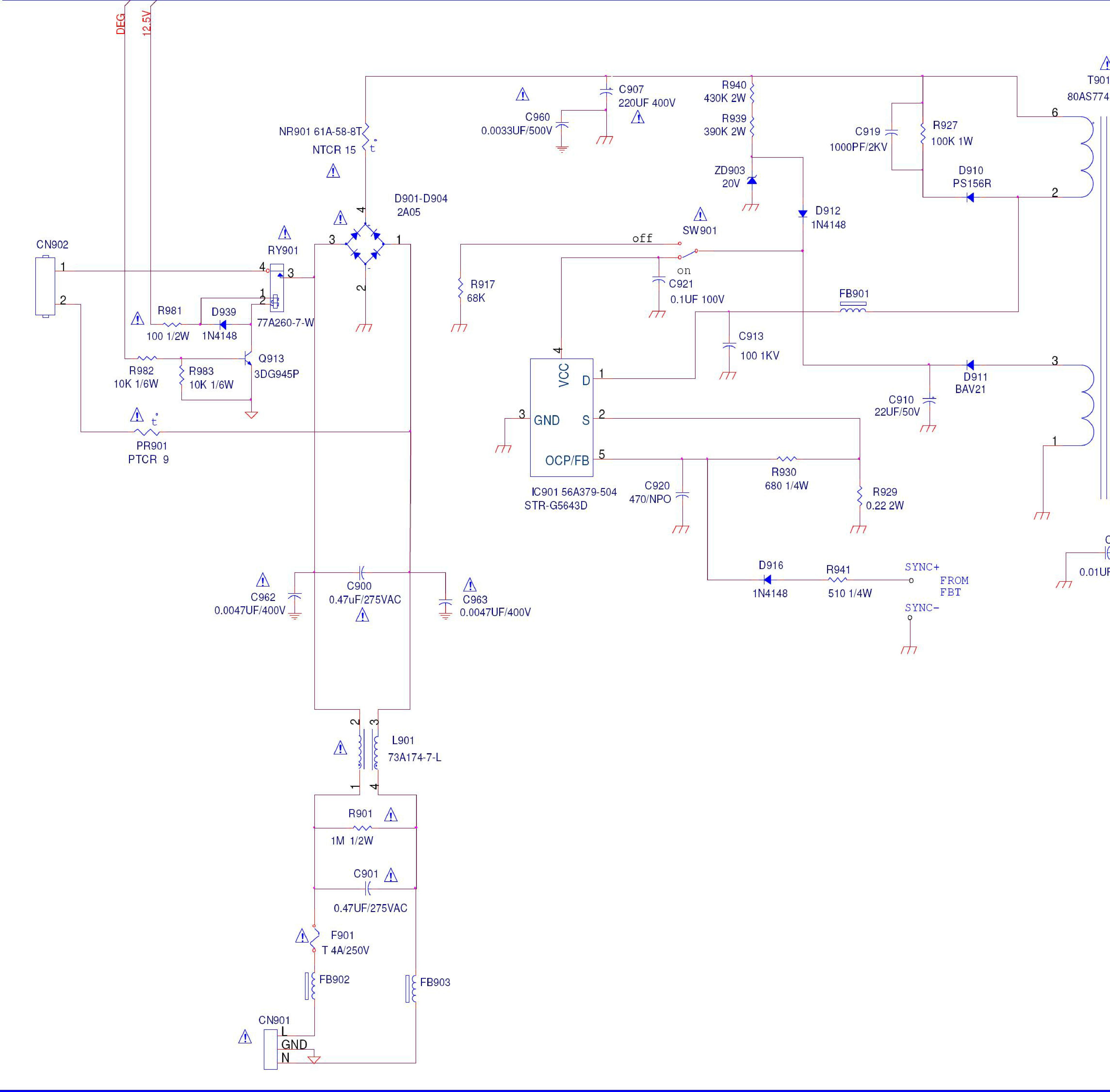 Str-g5643d Datasheet - Strg5643d
