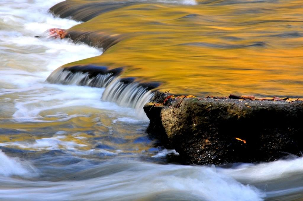 The Cuyahoga River, photographed Tuesday in Cascade Valley Metro Park / South by volunteer Joe Prekop