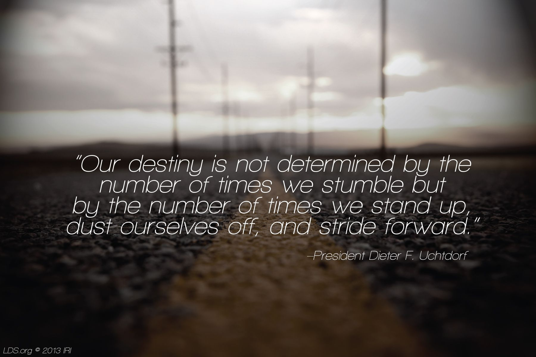 F Stock Quote Our Destiny Is Not Determinedthe Number Of Times We Stumble But .