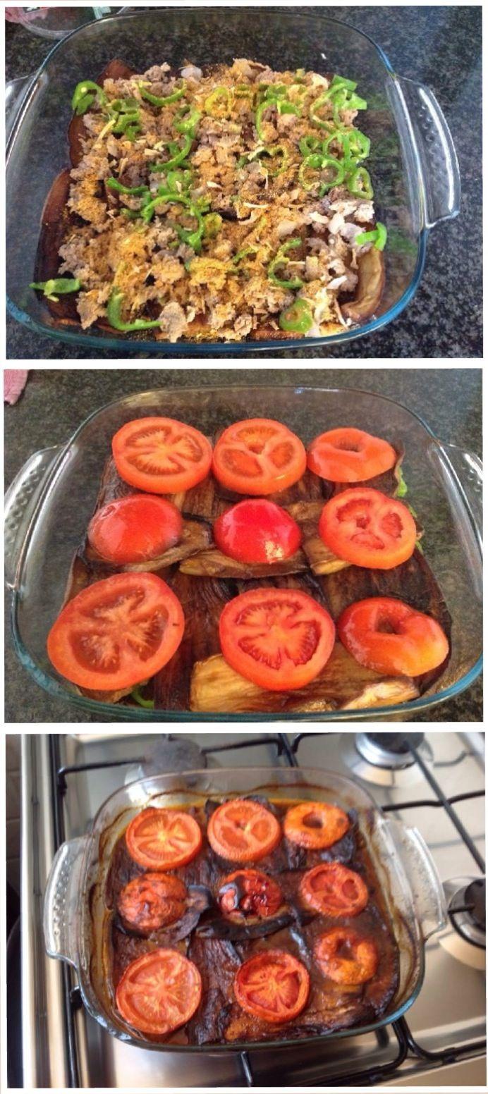 Eggplants mosaqaa recipe in english and arabic languages in food forumfinder Gallery