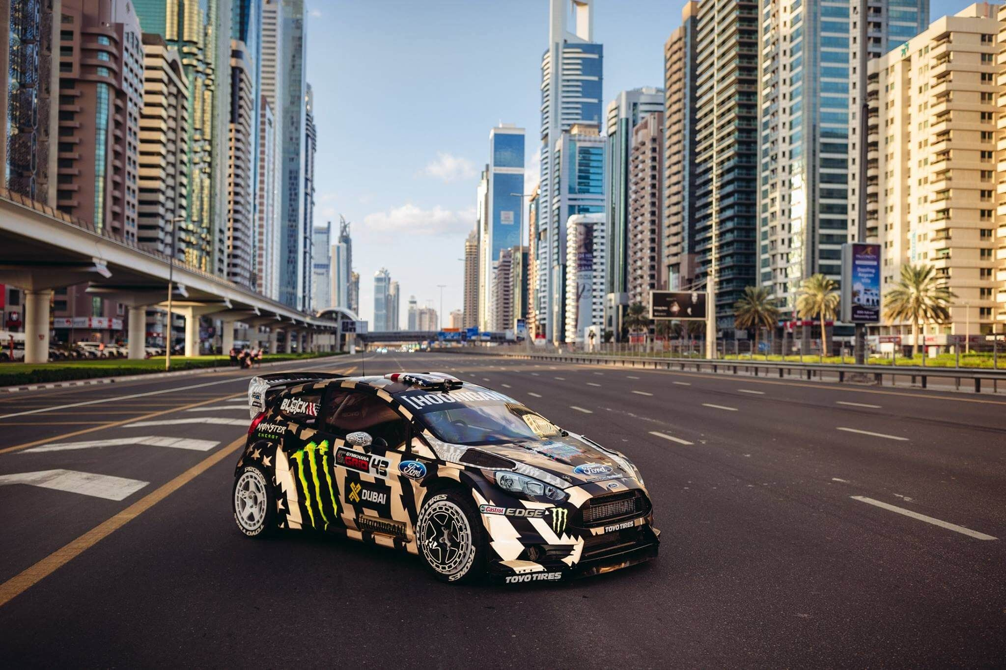Ken Block Gymkhana 8 Dubai Ford Fiesta ST RX43