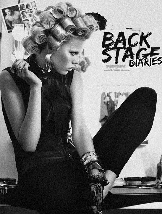 Julia Almendra by Benjamin Becker in 'Back Stage Diaries'